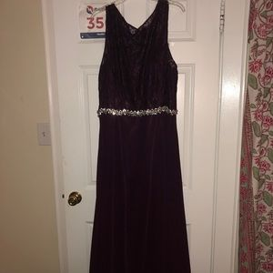 Dresses & Skirts - Plum Ball Gown